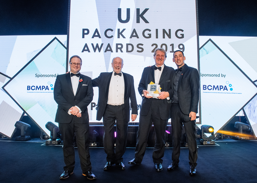 Granby victorious at UK Packaging Awards