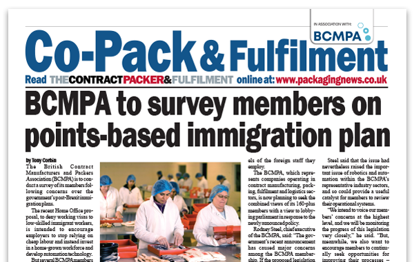 BCMPA to survey members on points-based immigration plan – Mar 2020