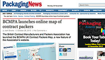 New BCMPA online map featured on Packaging News
